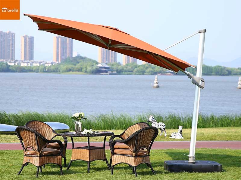 进口塞百纶面料遮阳伞