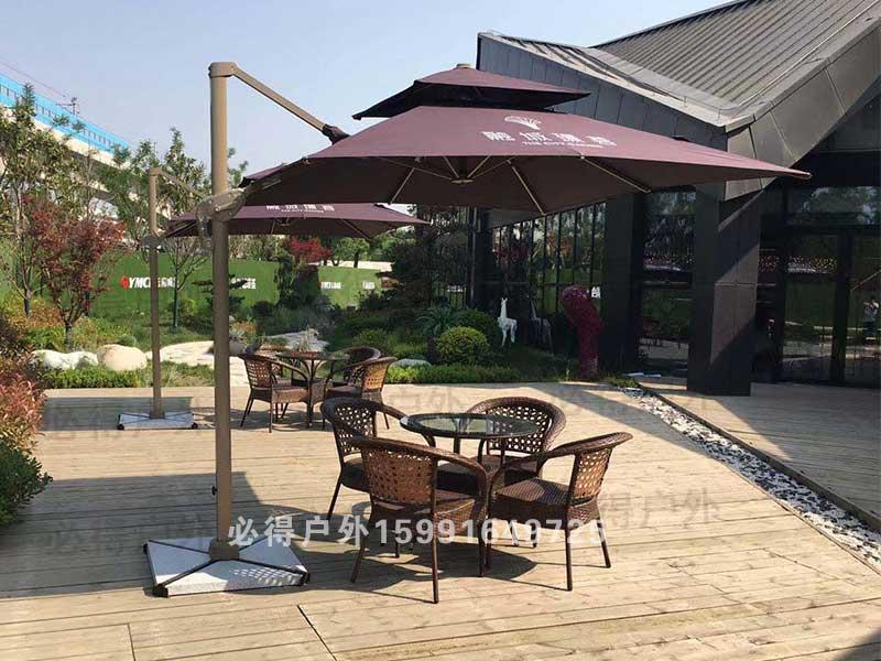 庭院遮阳伞桌椅