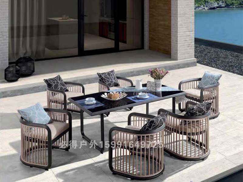 户外餐桌椅25